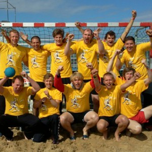 Beachhandball in Cuxhaven