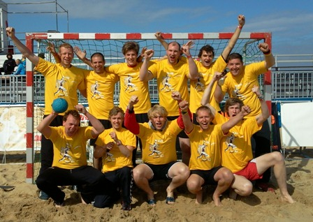 Beachhandball in Cuxhaven